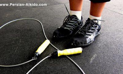 طناب زدن یک ورزش استقامتی