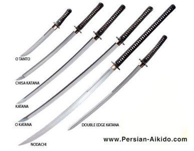 کاتانا ، شمشیر سامورایی ، آیکیدو