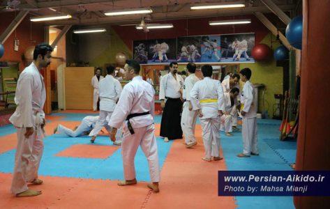 کلاس آموزش دفاع شخصی