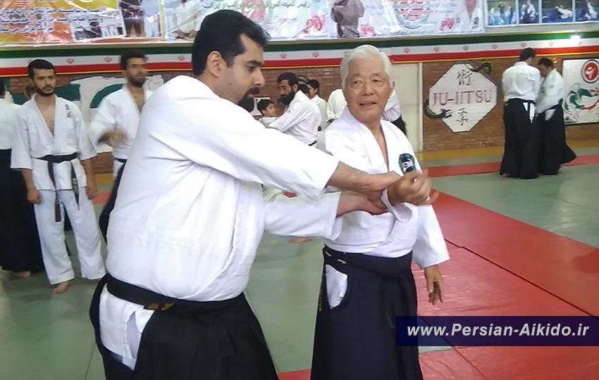 استاد پوررضا شیهان ایشیگاکی